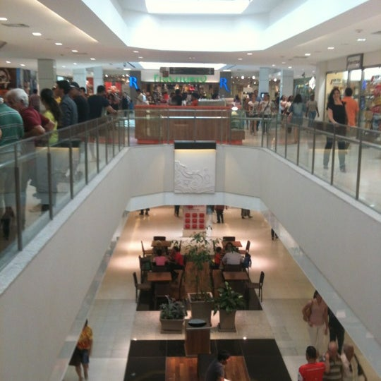 Photo taken at Shopping Recife by Sergio on 12/17/2012
