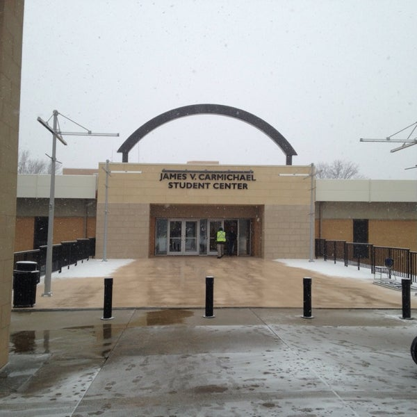 Photo taken at Carmichael Student Center by Drew B. on 2/25/2014