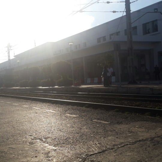Photo taken at Gare de Mohammédia  محطة المحمدية by Mouad I. on 3/11/2015