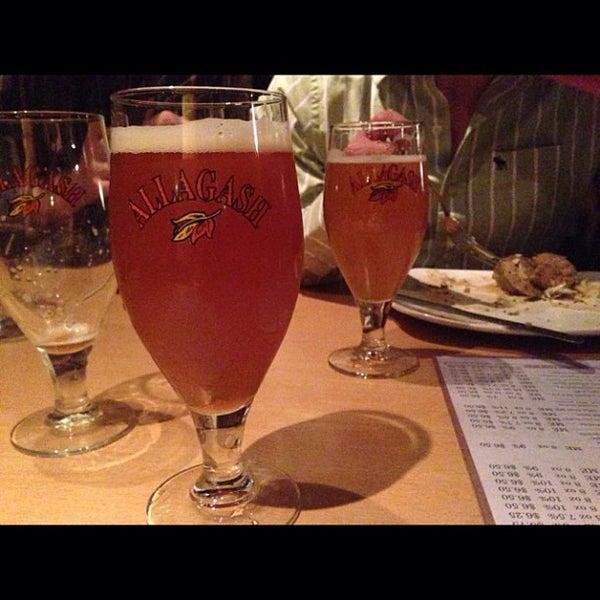 Photo taken at Novare Res Bier Cafe by Benjamin M. on 4/7/2013