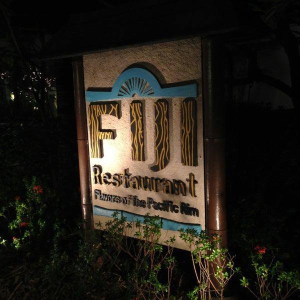 Photo taken at Fiji Restaurant by Steve T. on 12/24/2012