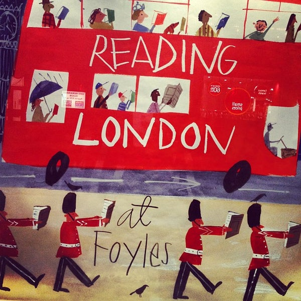 Photo taken at Foyles by Samson Y. on 9/4/2012