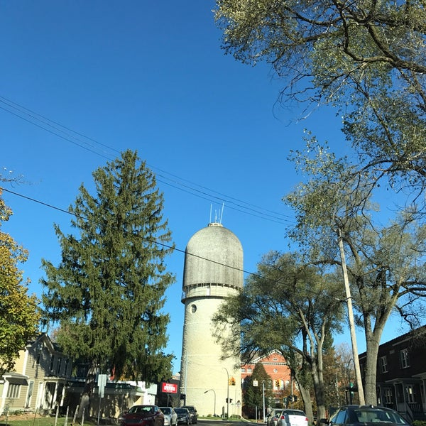 Photo taken at Ypsilanti Water Tower by Andrew L. on 11/13/2016