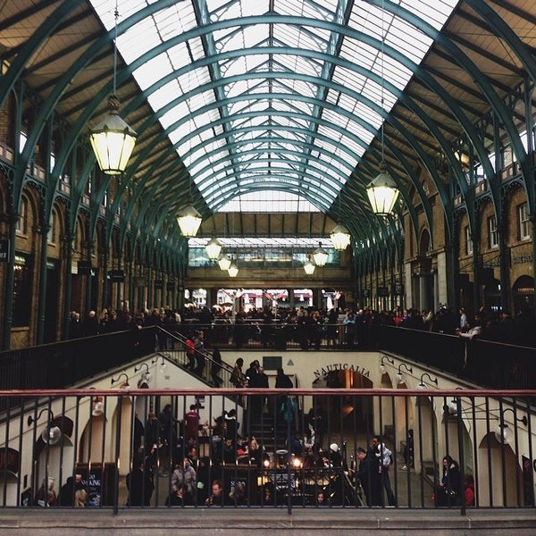 Photo taken at Covent Garden Market by Ahmet E. on 3/2/2014