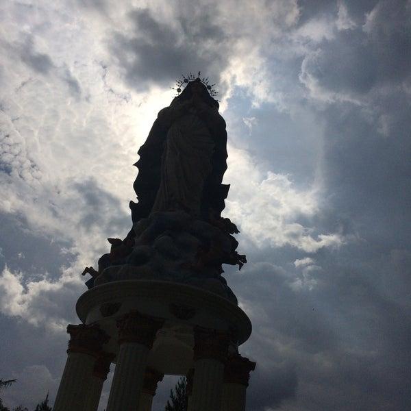 Photo taken at Gua Maria Kerep by fabian h. on 11/16/2016