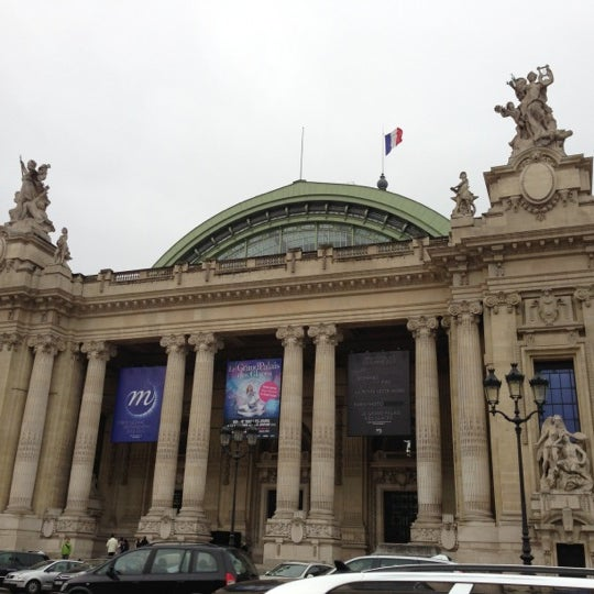Photo taken at Grand Palais by mallowe on 12/9/2012