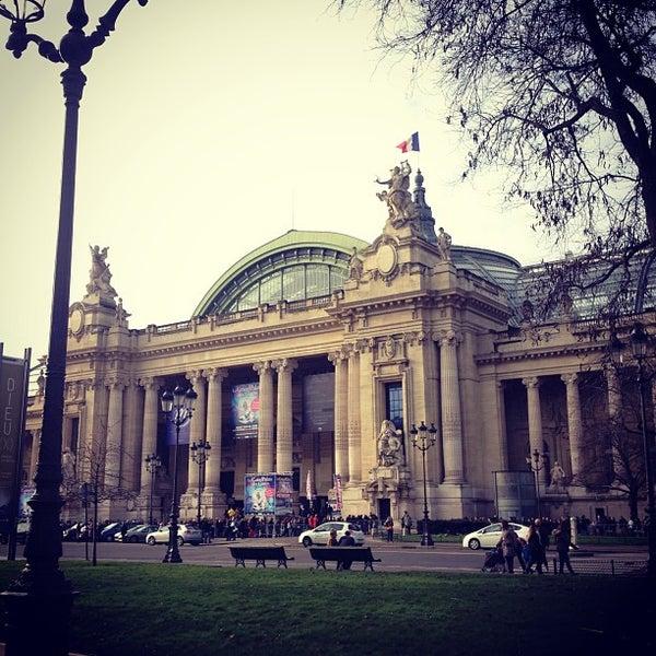 Photo taken at Grand Palais by Jeremy R. on 1/2/2013