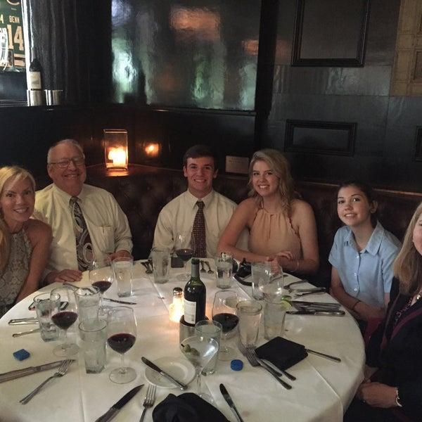 Photo taken at Al Biernat's Prime Steak & Seafood by Anthony A. on 5/22/2015