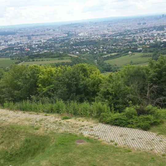 Photo taken at Kahlenberg by Nuray D. on 6/15/2014