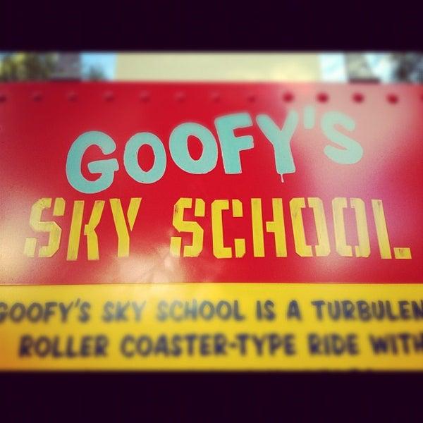 Photo taken at Goofy's Sky School by Rebecca G. on 11/14/2012