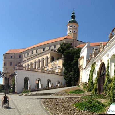 Photo taken at Zámek Mikulov by Mirda Š. on 8/18/2013