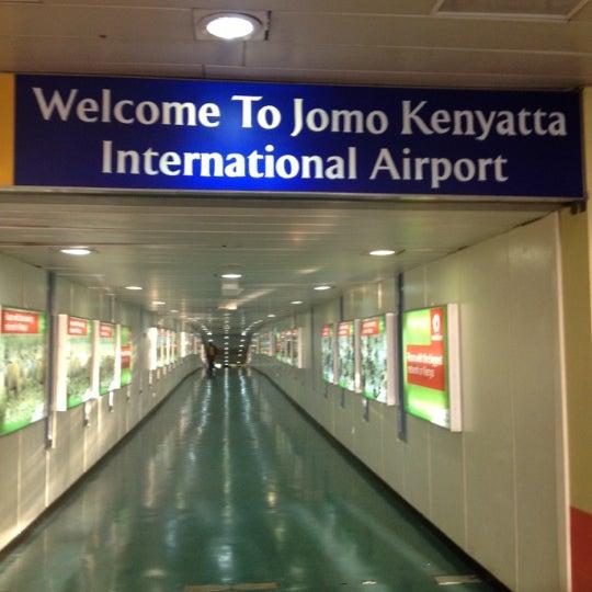 Photo taken at Jomo Kenyatta International Airport (NBO) by Larry N. on 9/15/2012