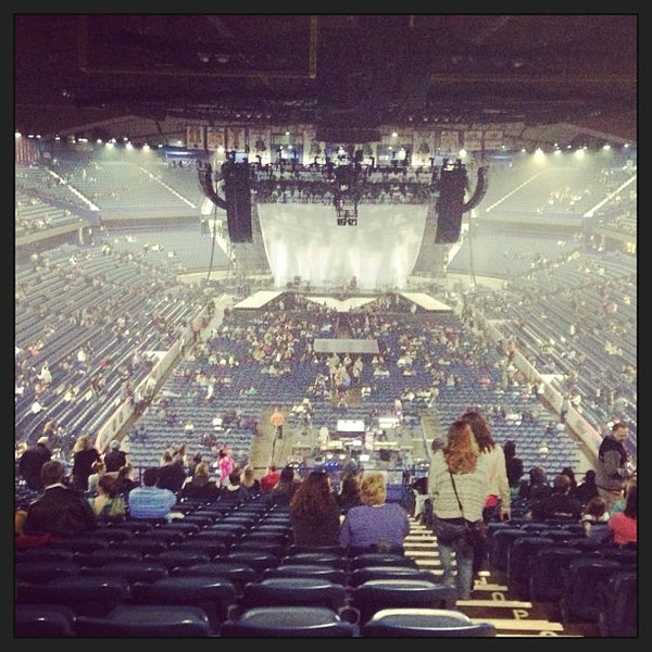 Photo taken at Allstate Arena by Shari S. on 4/7/2013