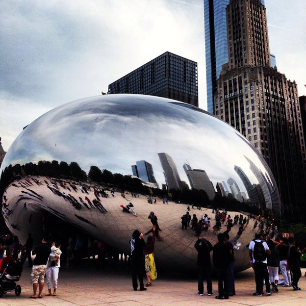 Photo taken at Cloud Gate by Colin K. on 6/9/2013
