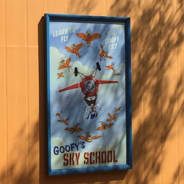 Photo taken at Goofy's Sky School by Brad E. on 9/2/2016