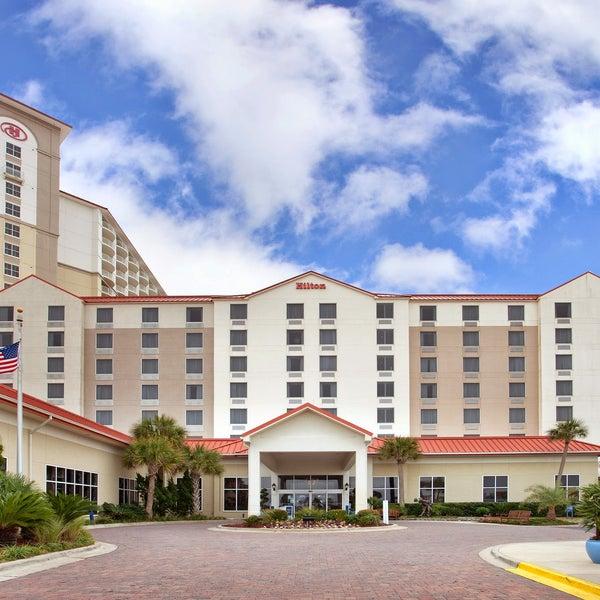 Photo taken at Hilton Pensacola Beach by Jack I. on 6/16/2016