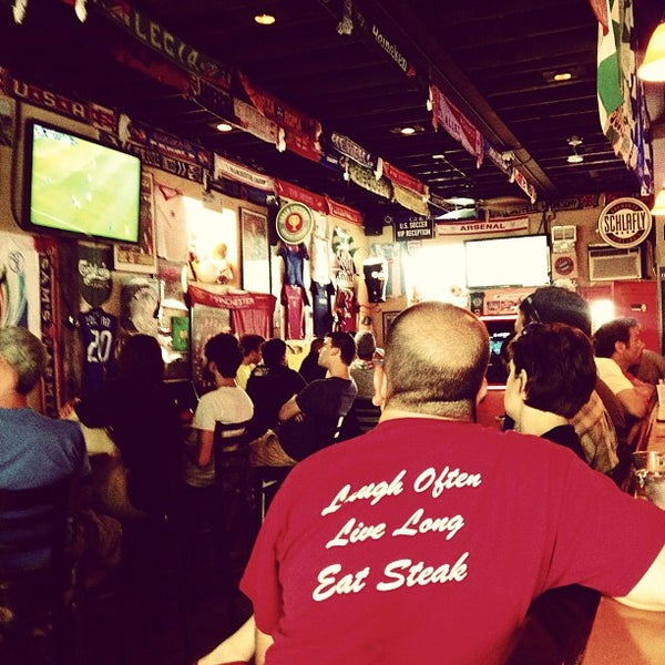 Photo taken at Amsterdam Tavern by Ken M. on 6/22/2013