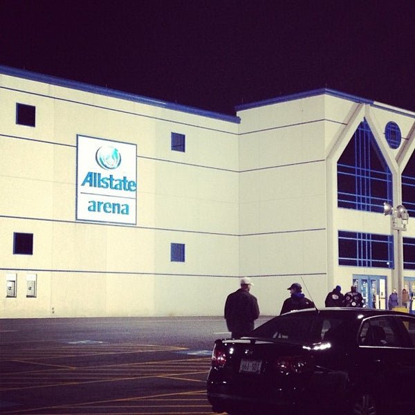 Photo taken at Allstate Arena by Dan C. on 11/28/2012