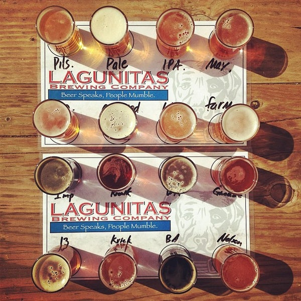 Photo taken at Lagunitas Brewing Company by Eric W. on 6/15/2013