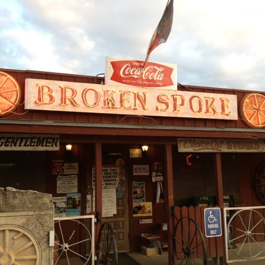 Photo taken at Broken Spoke by Crystal M. on 10/27/2012