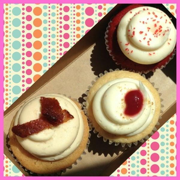 Photo taken at Sift Cupcake & Dessert Bar by NicciBobby on 5/18/2013