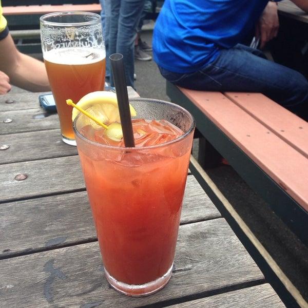 Photo taken at George & Dragon Pub by Sheena on 6/28/2014