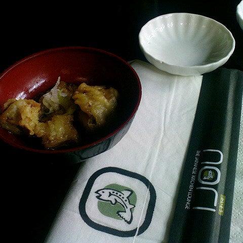 Photo taken at Nori The Japanese Kitchen Lounge by Cynenya B. on 11/3/2012