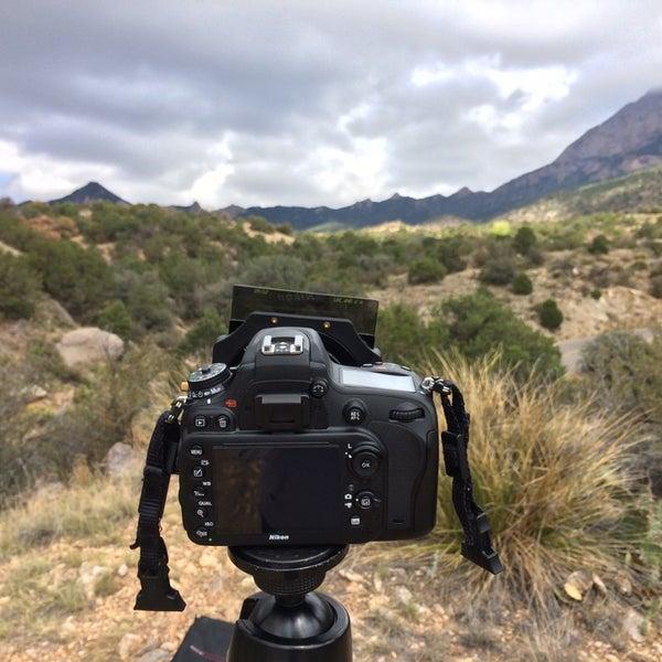 Photo taken at La Luz Trailhead by Paul Andrew D. on 9/28/2014
