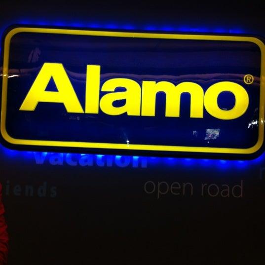 Alamo Car Rental Pick Up Service