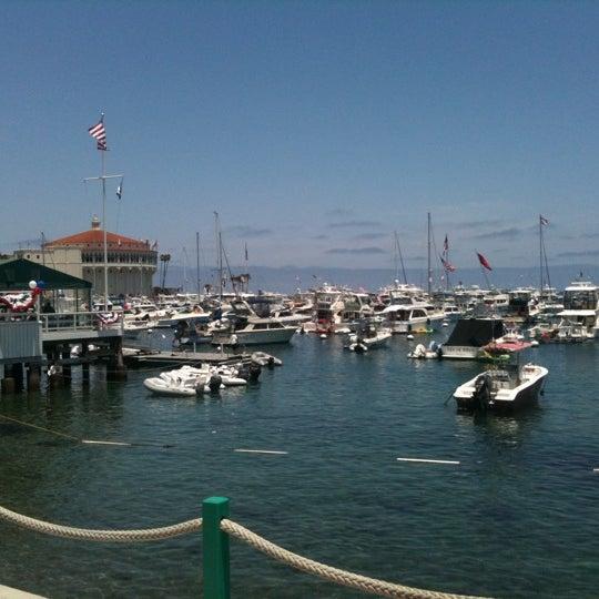 Photo taken at Santa Catalina Island by Cody F. on 7/4/2013