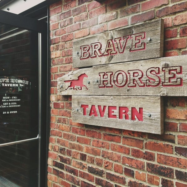 Photo taken at Brave Horse Tavern by Kate K. on 7/5/2013