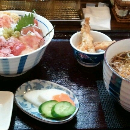 Photo taken at 食堂さくら屋 by Shinya O. on 11/3/2012