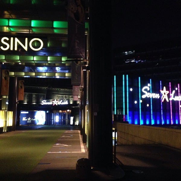 Photo taken at Seven Luck Casino by kin a. on 10/13/2013