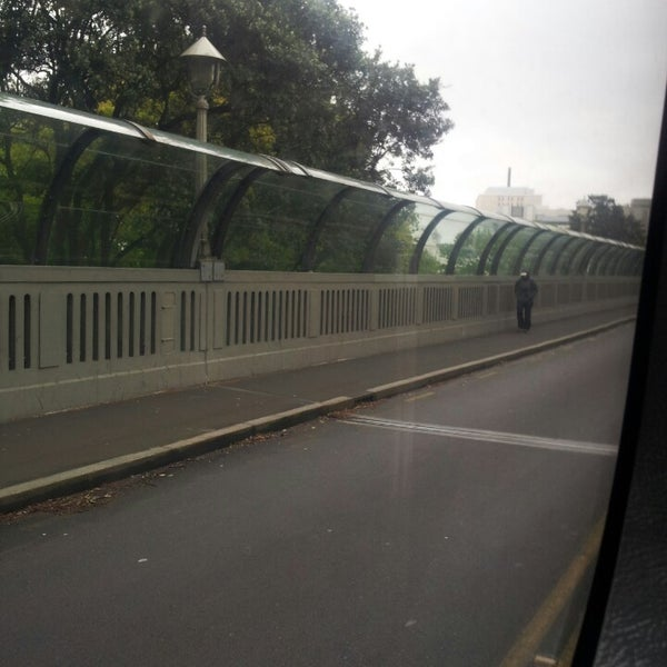Photo taken at Grafton Bridge by Julia R. on 10/11/2013