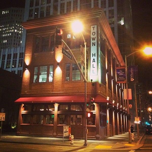 Photo taken at Town Hall Restaurant by Matt G. on 3/5/2013