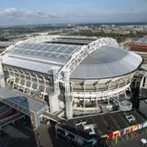 Amsterdam Arena Soccer Stadium In Amsterdam Zuidoost