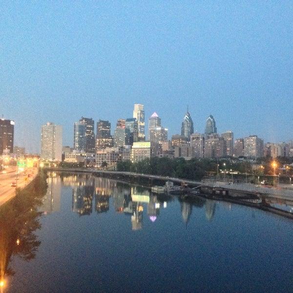 Photo taken at South Street Bridge by Sam A. on 8/26/2014