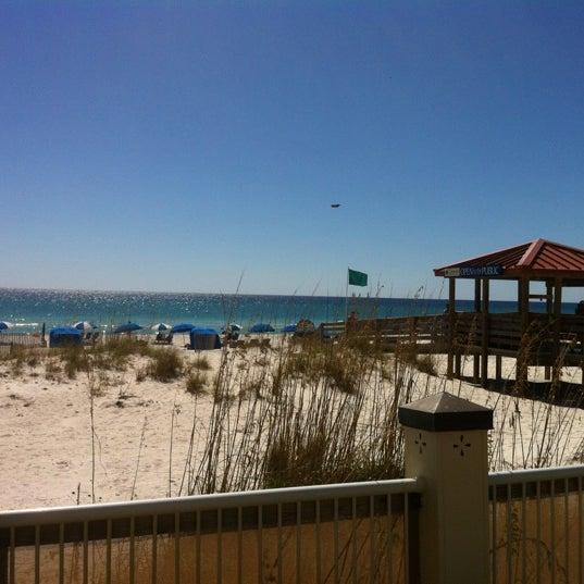 Photo taken at Hilton Pensacola Beach by David M. on 10/21/2012