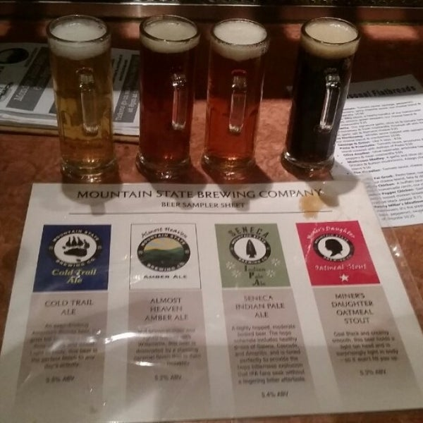 Photo taken at Mountain State Brewing Co. by JB F. on 5/22/2015