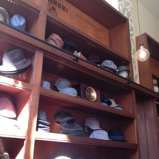 Photo taken at Goorin Bros. Hat Shop by Marina P. on 10/27/2012