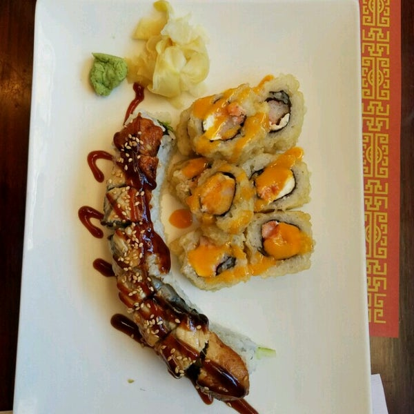 Photo taken at Sushi Cafe by Kerry C. on 9/30/2016