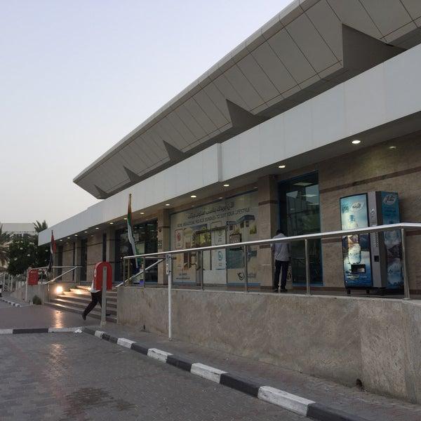 Photo taken at Emirates Post Office مكتب بريد الإمارات by Sooraj W. on 5/25/2016