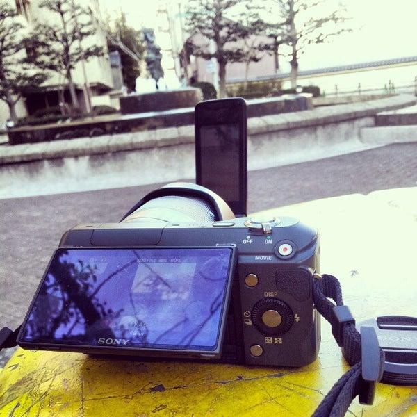 Photo taken at 大須公園 by Malibu T. on 1/29/2013
