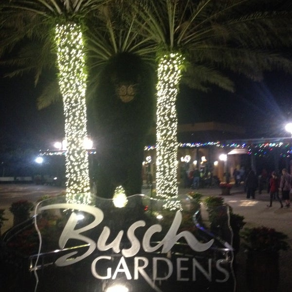 Busch gardens christmas town now closed festival What time does busch gardens close today