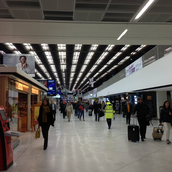 Photo taken at Aéroport de Paris-Orly (ORY) by Jerome G. on 4/3/2013