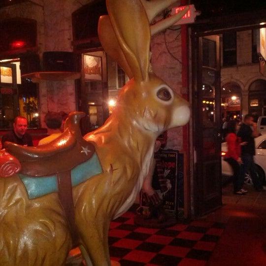 Photo taken at The Jackalope by Katie G. on 11/18/2012