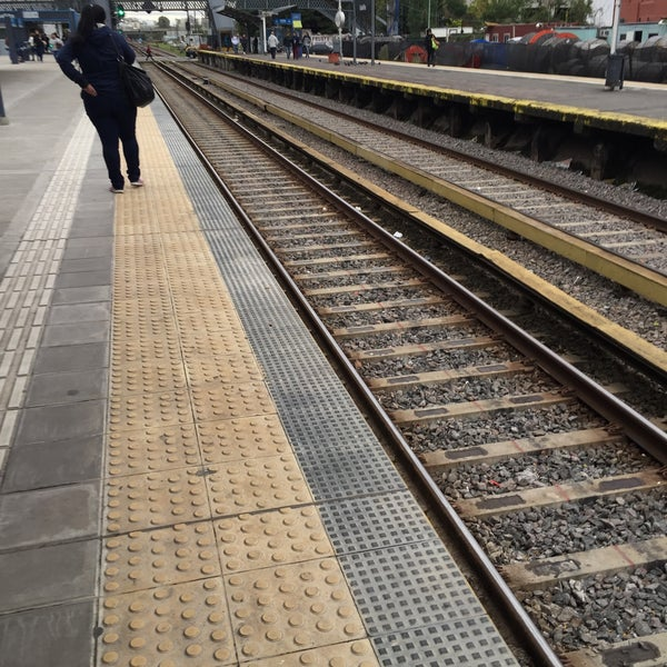 Photo taken at Estación Caballito [Línea Sarmiento] by Emi G. on 4/25/2016