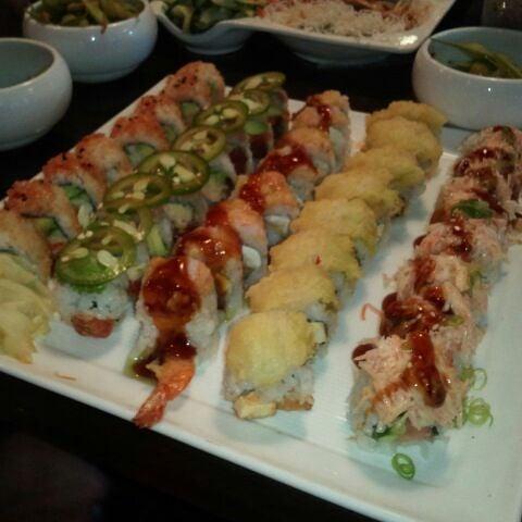 Photo taken at Blue Sushi Sake Grill by Kerstin B. on 5/11/2012