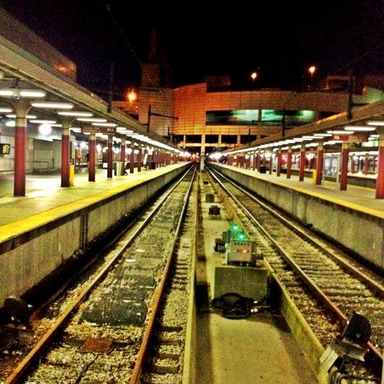 Photo taken at MBTA South Station by Shirish N. on 8/29/2012
