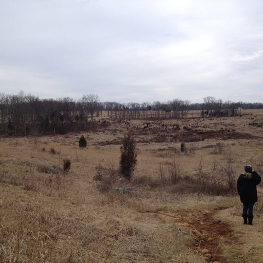 Photo taken at Wheatfield, Gettysburg Battlefield by Sean G. on 2/19/2012